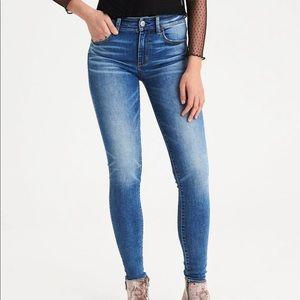 AEO Hi-Rise Jegging Jean Size 10 Short